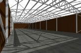 Rešetkasta dvovodna krovna konstrukcija